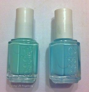 Essie Mint Candy Apple Comparison