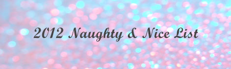naughty and nice list banner