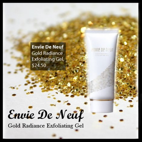 Envie De Neuf Gold Radiance Exfoliating Gel $24.50