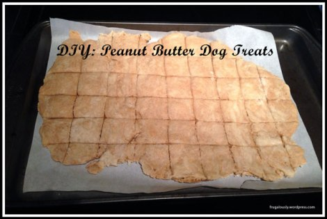 How to make DIY Peanut Butter Dog Treats