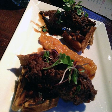Fried Quail and Waffles