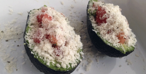 Frugal Clean Eats: How to make baked avocados