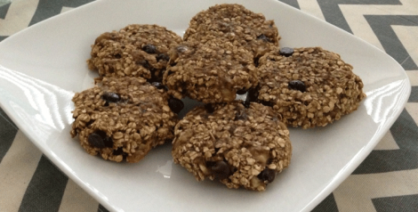 2 Ingredient Oatmeal Cookies