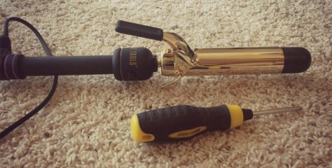How to make a curling wand