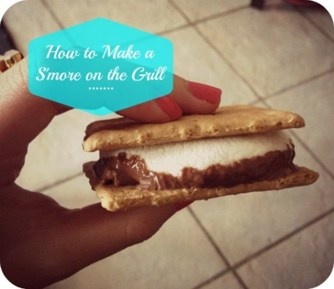 How to Make a S'more on the Grill