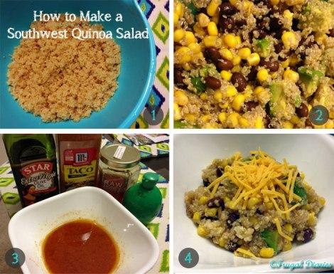 How to make a southwest quinoa salad