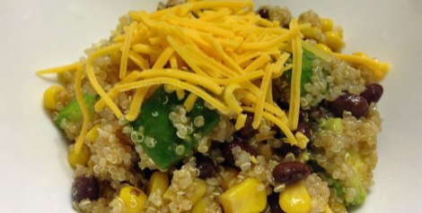 How to make a southwest quinoa salad